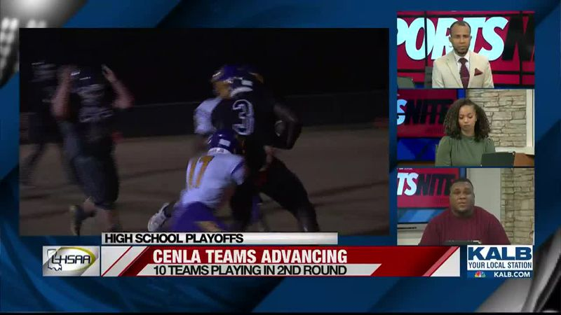 Central Louisiana teams advance to the 2nd round of playoffs