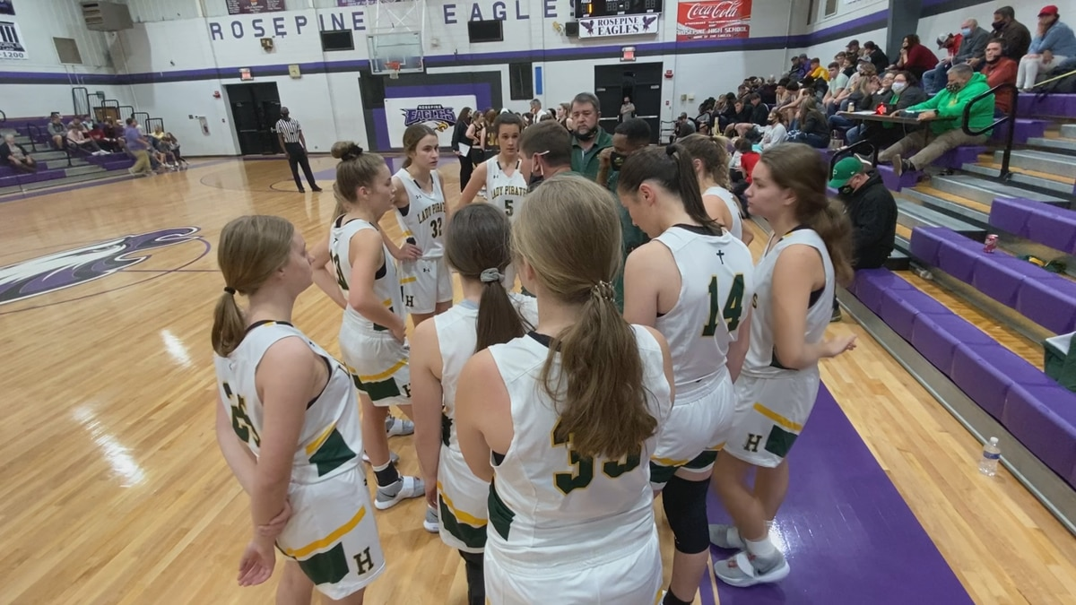 The Hicks Lady Pirates basketball team will play in its third straight title game after beating...