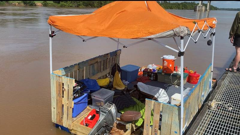 Three teenagers decided to spend their summer building a homemade pontoon boat and traveling...