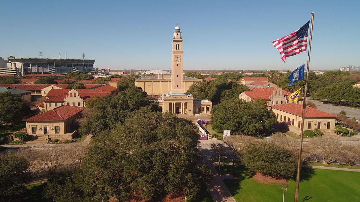 LSU campus in Baton Rouge, La. | Source: WAFB