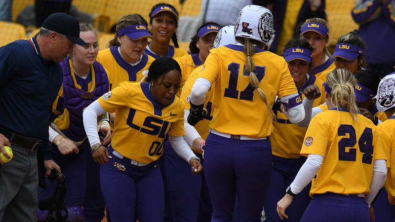 The LSU softball team has released its 2021 schedule on Thursday, Jan. 21.
