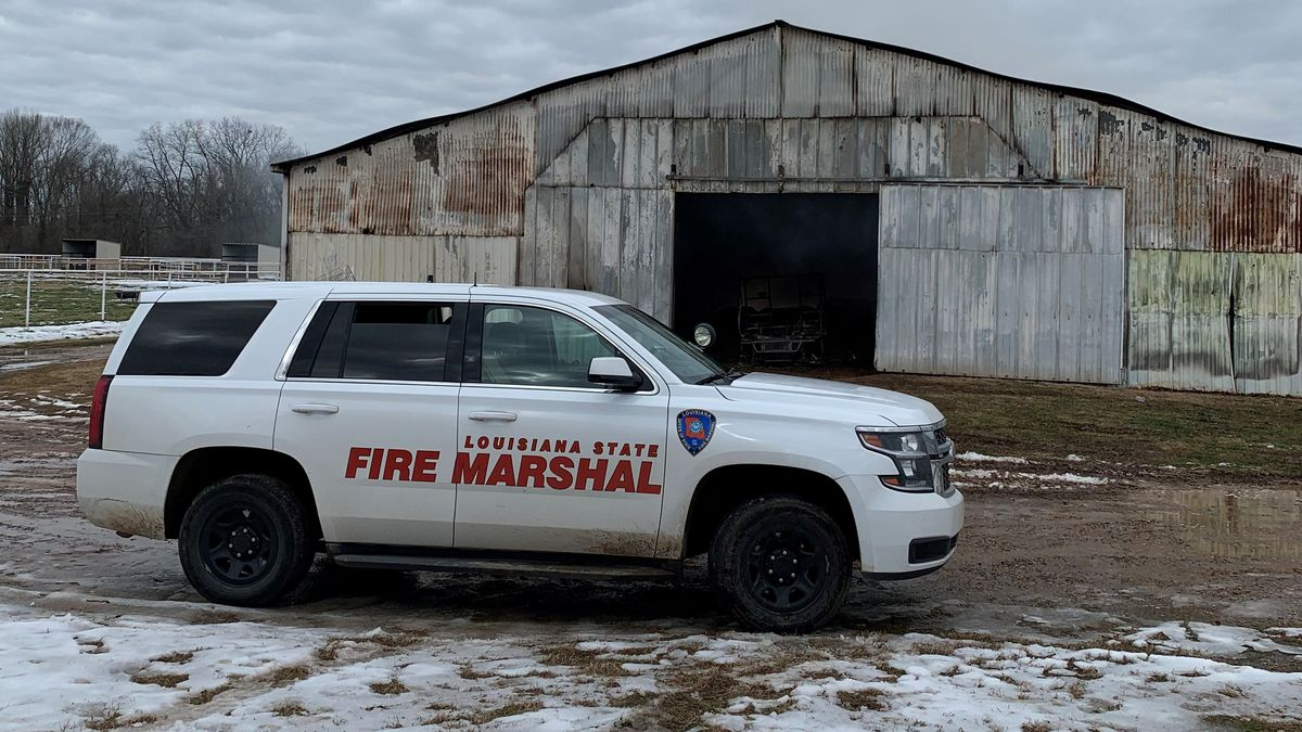 On February 20, the South Bossier Fire Department responded to a report of a barn fire located...