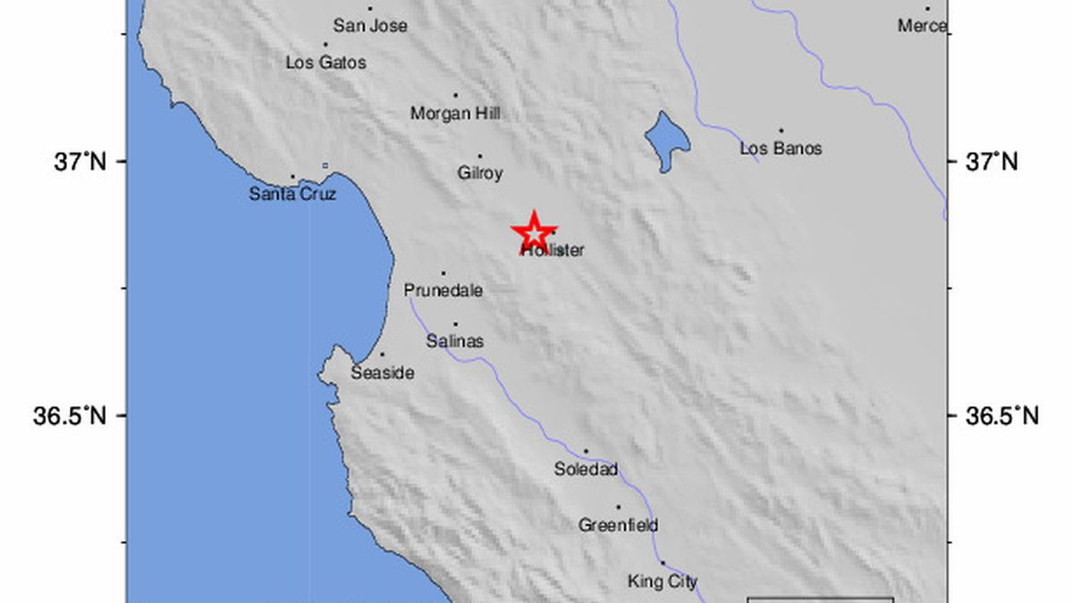 The U.S. Geological Survey says a magnitude 4.5 earthquake struck Southern California late Friday night.