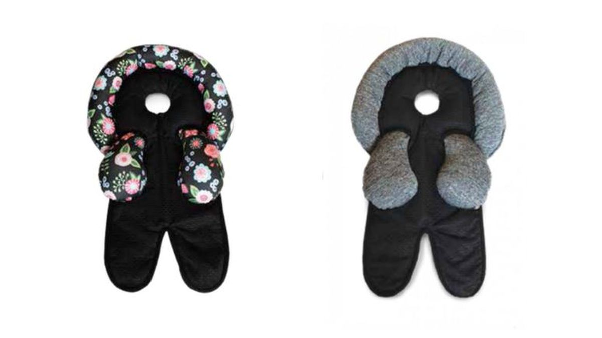 Parents should immediately stop using the head support and contact The Boppy Company for a full refund.   Photo Source: United States Consumer Product Safety Commission