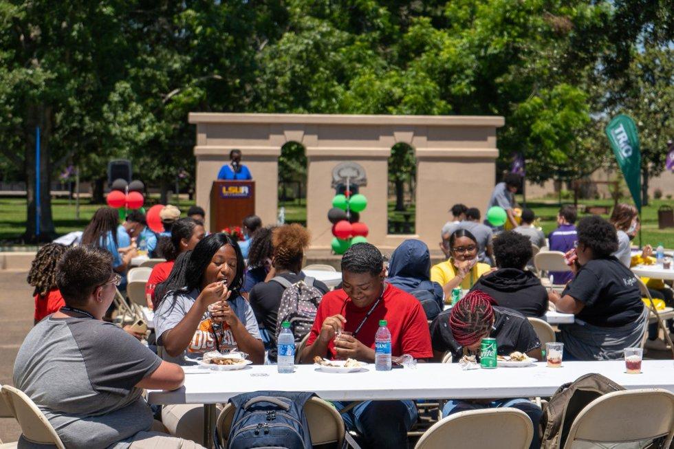 LSUA hosted a Juneteenth Celebration