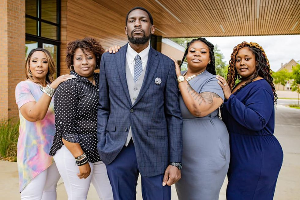 Local business leaders receive photoshoot for The Alexandria Regional Black Chamber of...