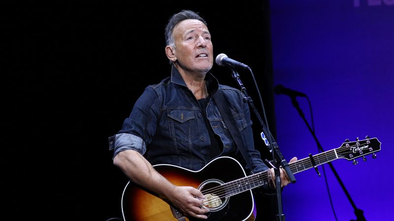 Bruce Springsteen performs at the 13th annual Stand Up For Heroes benefit concert in support of...