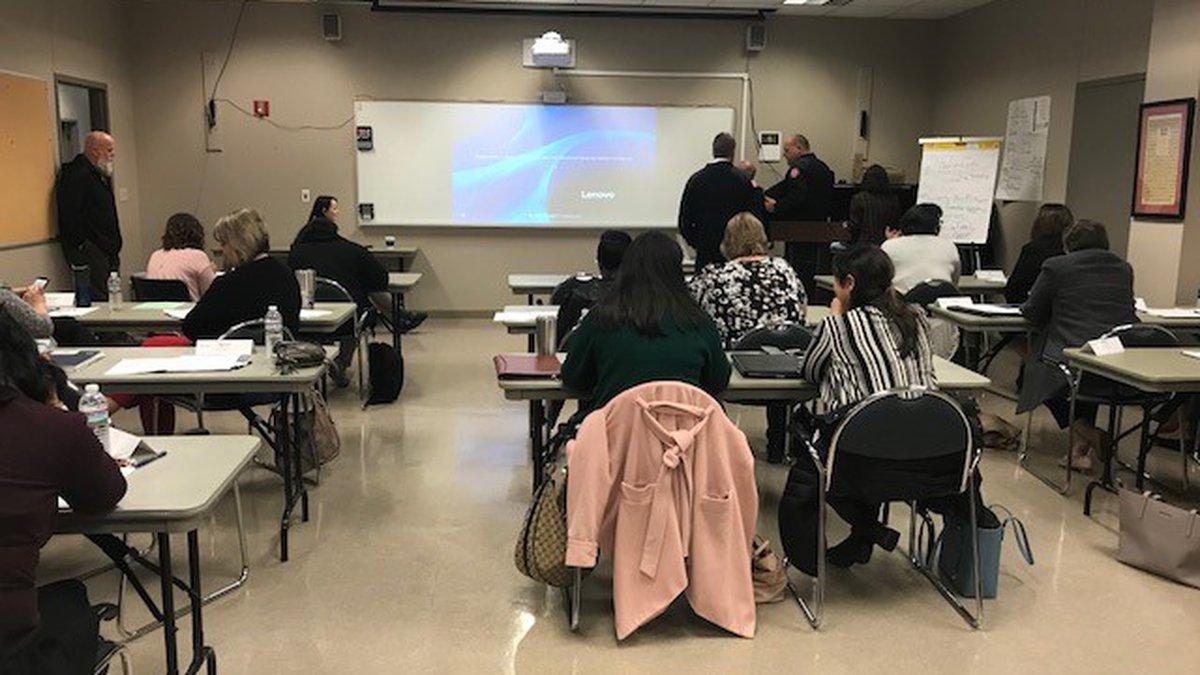 Victim advocates train with NCAC in Alexandria.