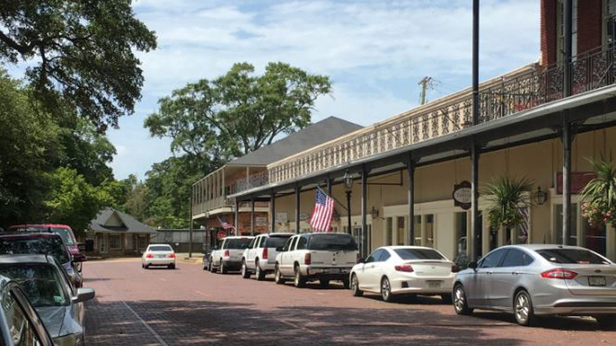 Front Street in Natchitoches