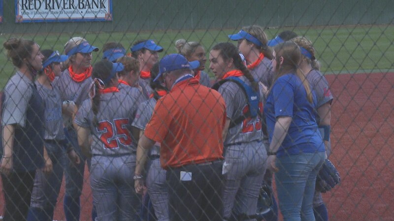 The Louisiana College Lady Wildcat softball team held off a possible late comeback by the LSUA...