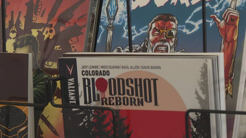 Free Comic Book Day brings many people out looking for their favorite superheroes.