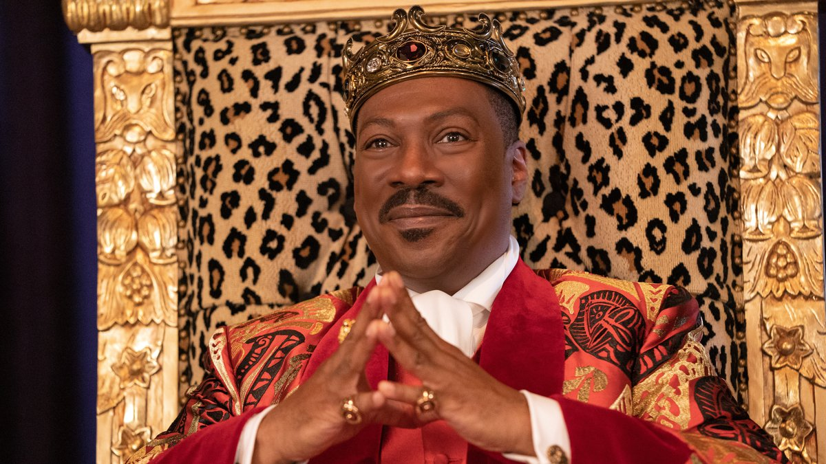"""Eddie Murphy appears in a scene from """"Coming 2 America."""""""