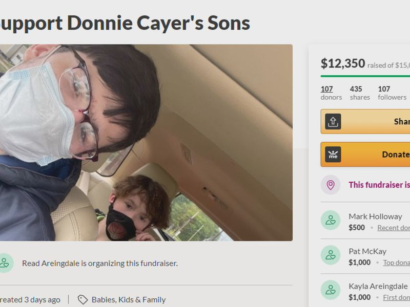 The fundraiser has brought in over $12,000 so far.