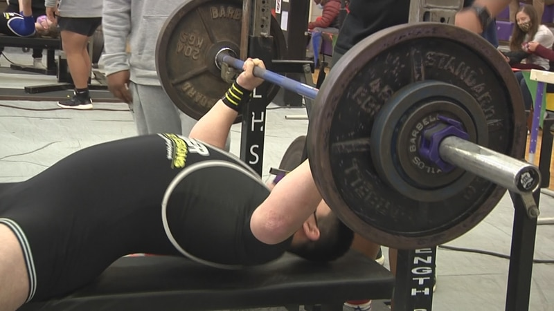 The ASH Trojans hosted their annual powerlifting meet on Saturday.