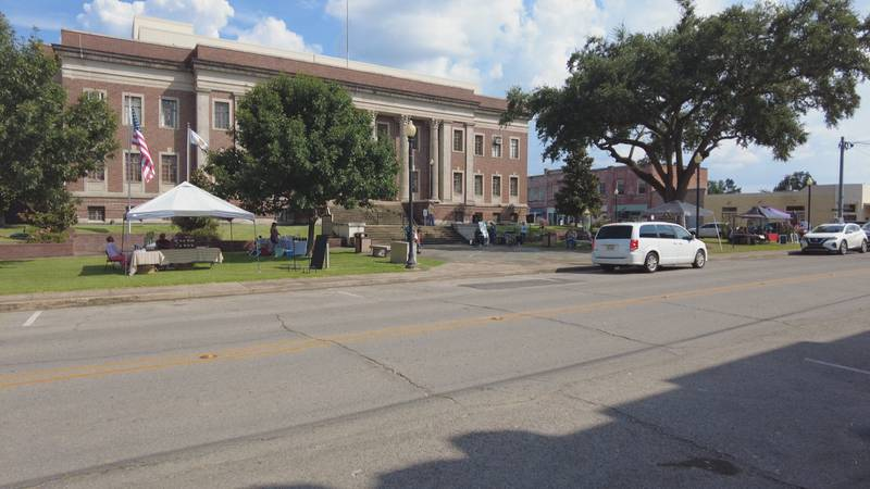 The Main Street Market is located in Marksville, Louisiana.