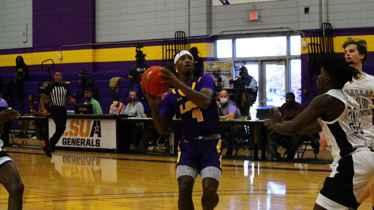 Rodney Munson scored a career-high 28 points, leading the LSUA men's basketball team to 111-73...