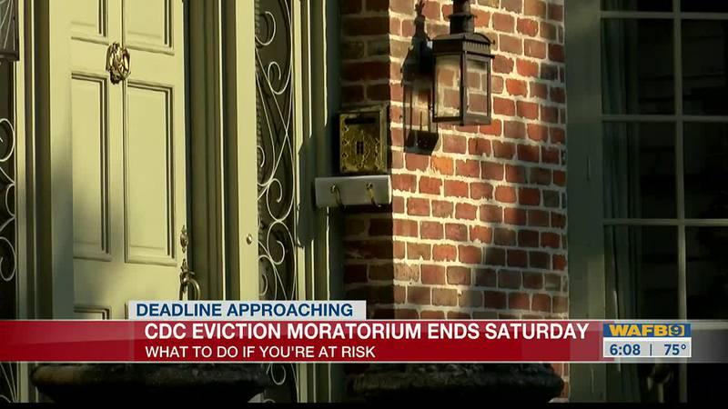 CDC Eviction Moratorium expires July 31