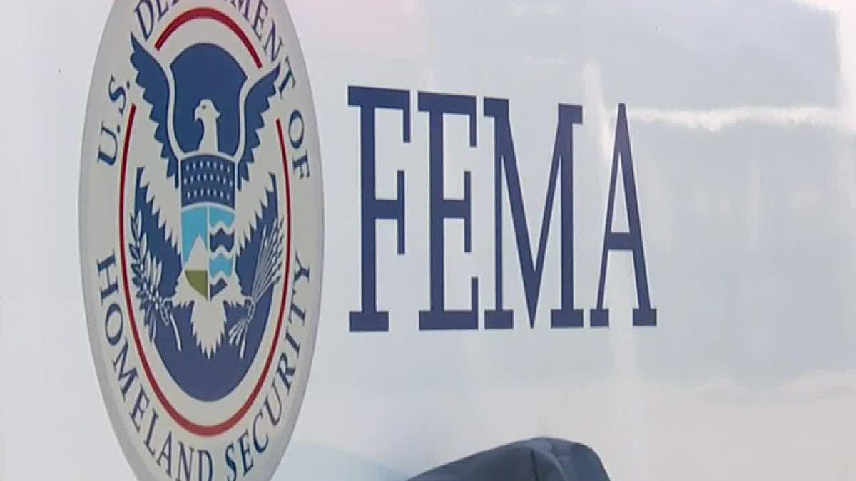 FEMA is helping people in LaSalle Parish.