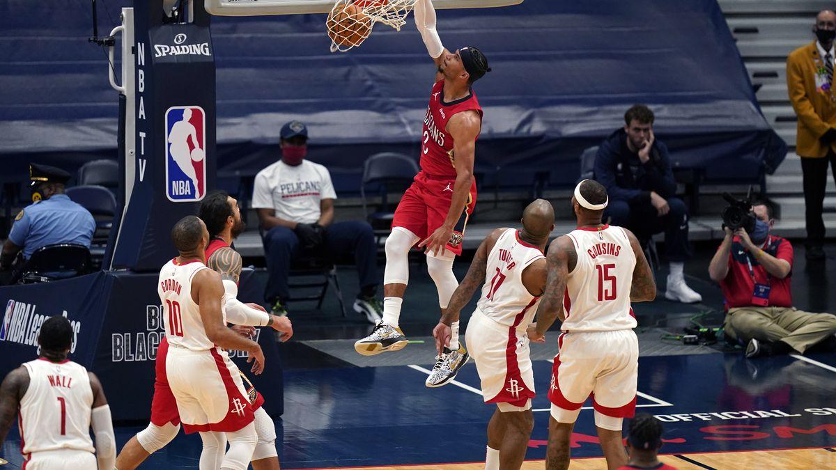 Αποτέλεσμα εικόνας για New Orleans Pelicans - Houston Rockets 130-101