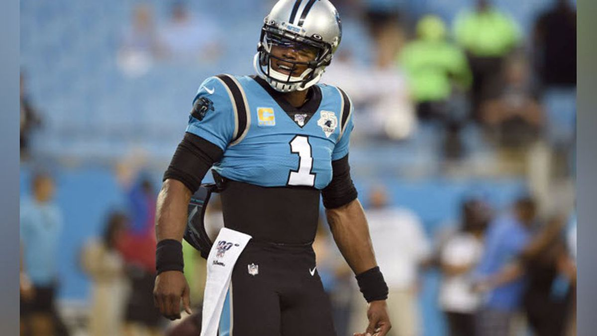 Former MVP Cam Newton Released by Carolina Panthers After