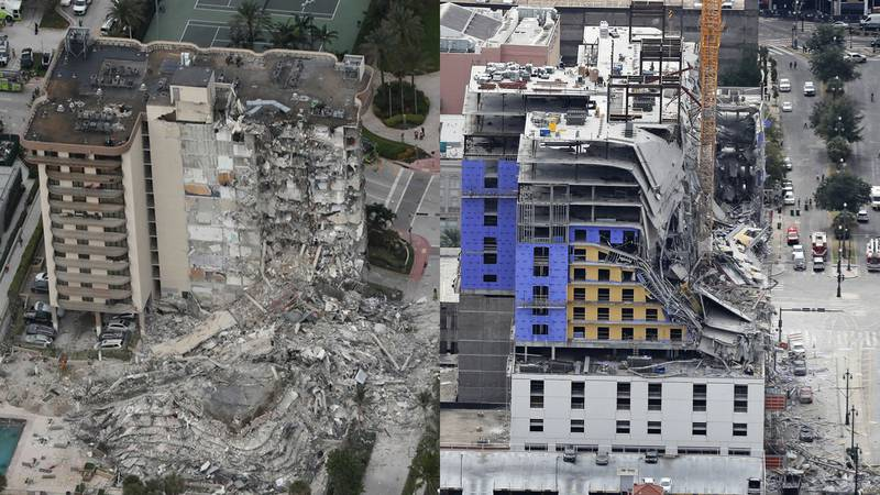 Some similarities between the Hard Rock and Champlain collapses exist, but causes will likely...
