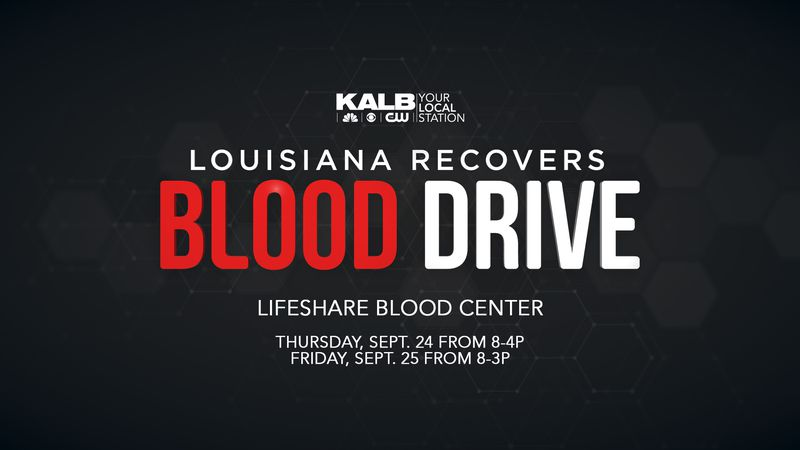 KALB and Christus St. Frances Cabrini Hospital have partnered up to hold a two-day blood drive...