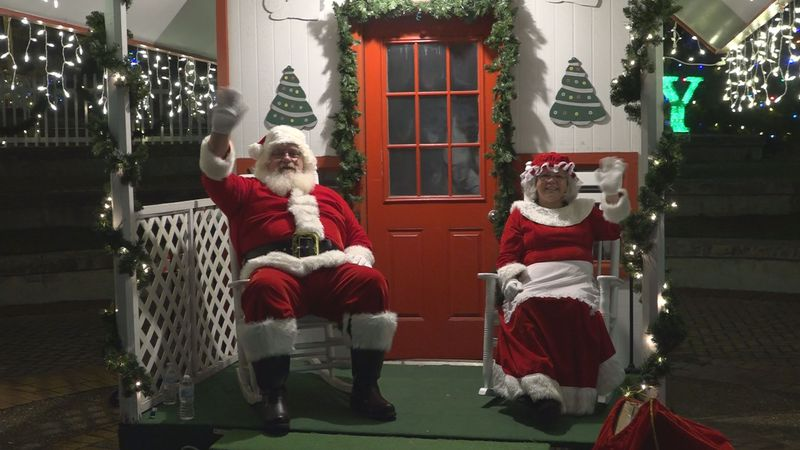 The City of Alexandria kicked of the first ever Winter Fête Wonder Lane.