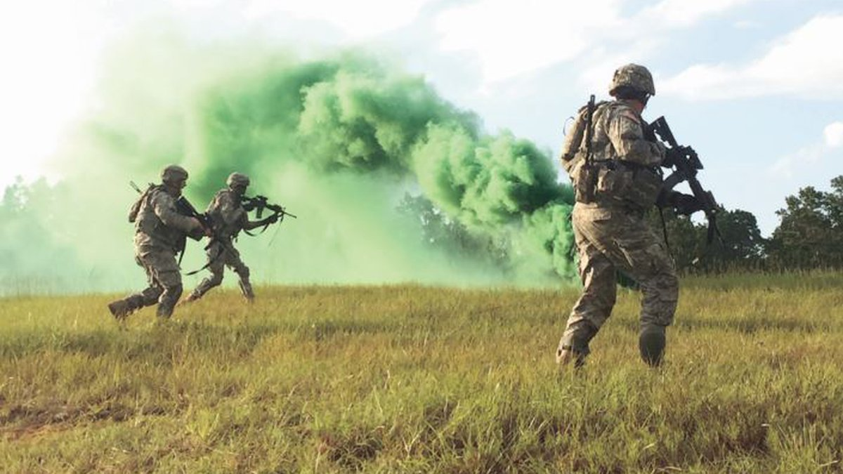 Soldiers with the Louisiana National Guard's 256th Infantry Brigade and 3rd Brigade...