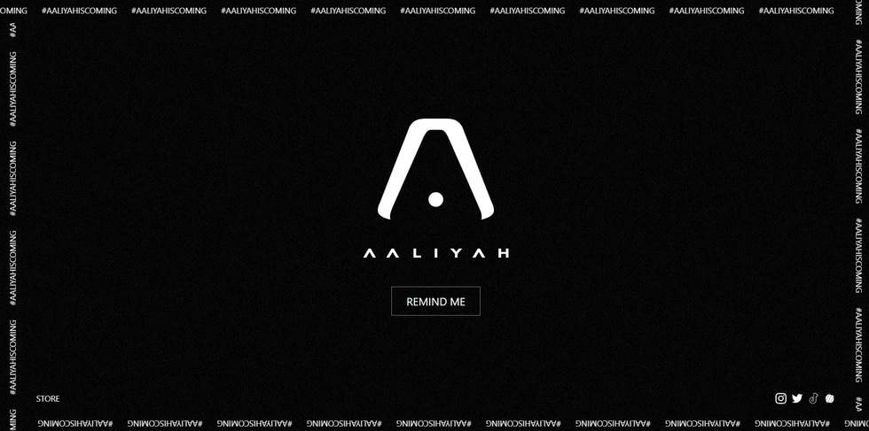 Blackground Records. 2.0 teased the release of the late singer Aaliyah's music
