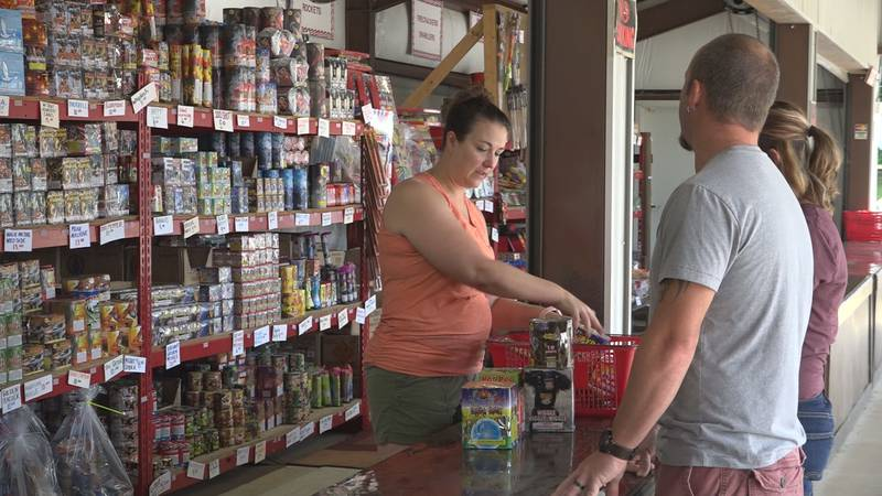 A nationwide firework shortage is limiting how much products will cost and how long they will...