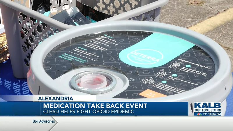 CLHSD hosts first ever medication take back event.