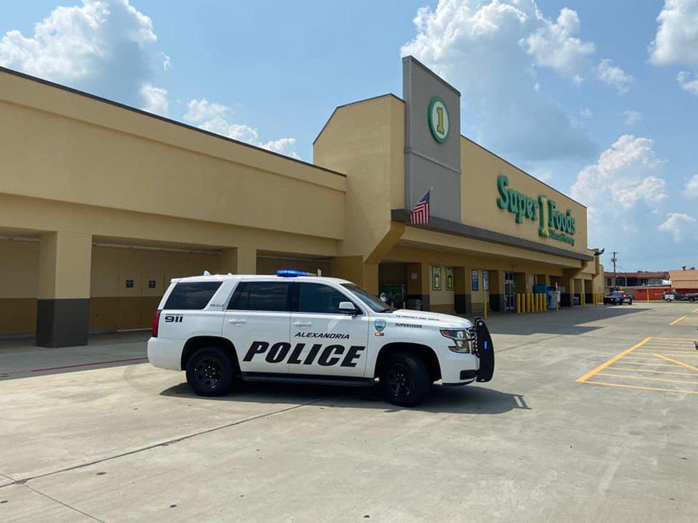 Super 1 Foods in Alexandria was evacuated.