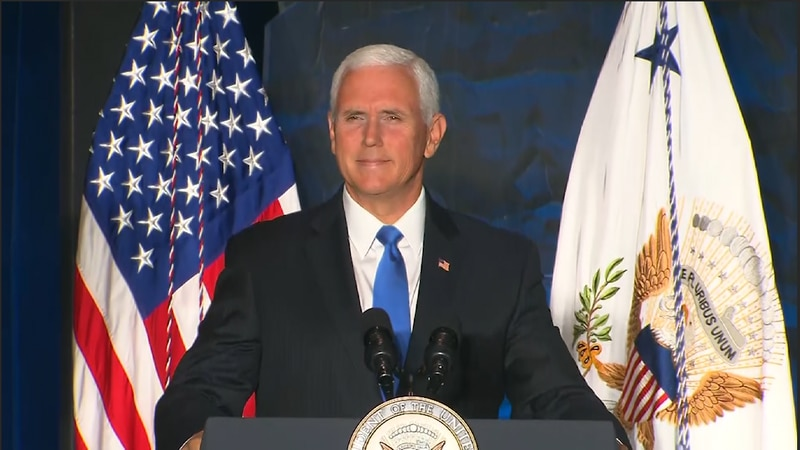 Vice President Pence will be making a campaign stop in Tucson and Mesa, Arizona on Tuesday.