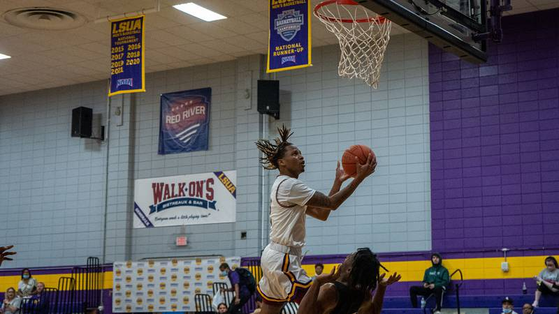 A.J. Rainey dropped in 27 in his first game with the Generals, leading LSUA to a 97-73 win over...