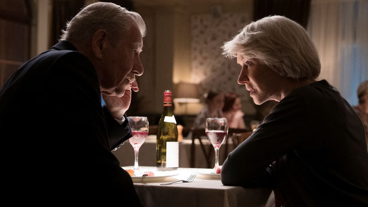 "This image released by Warner Bros. Pictures shows Ian McKellen, left, and Helen Mirren in a scene from ""The Good Liar."" 