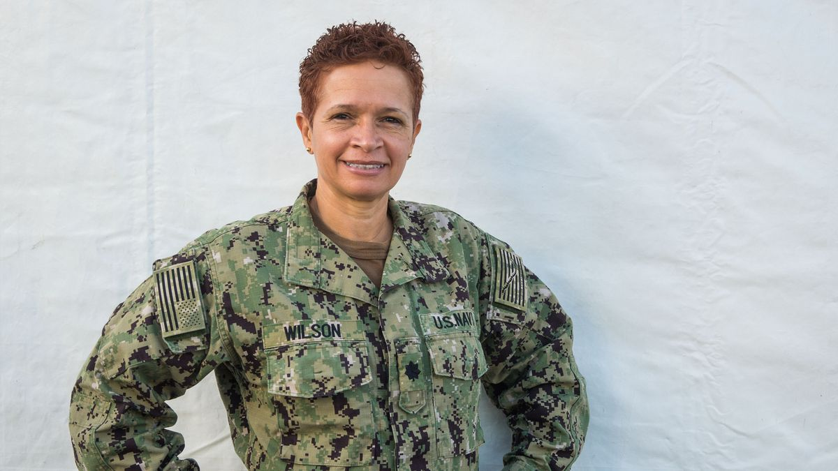 Cmdr. Betty Sowell Wilson, a native of Natchitoches, Louisiana
