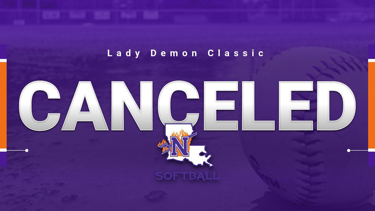 NSU's opening weekend was canceled due to inclement weather.