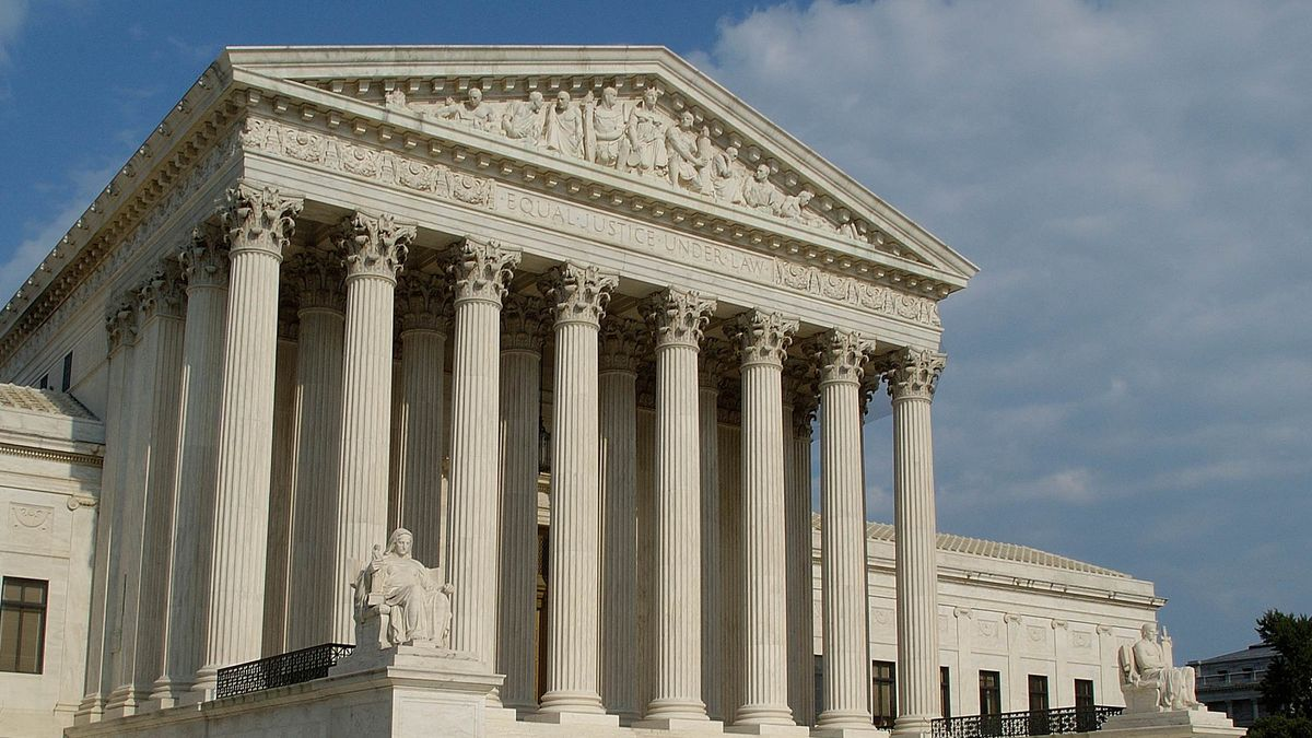 Supreme Court justices won't hear arguments until the winter and a decision is likely to come by the end of June, four months before the presidential election. (Source: Gray News)