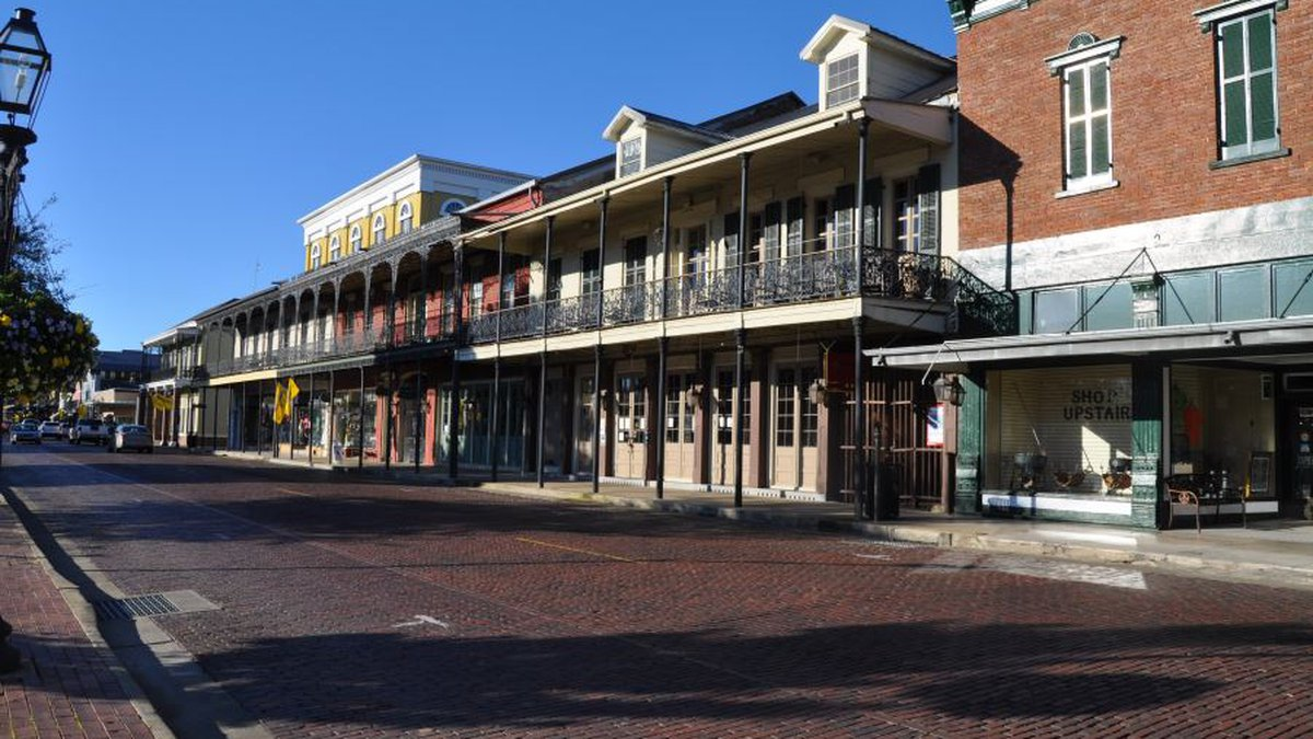 Natchitoches Front Street | Provided Courtesy of the Office of the Lieutenant Governor