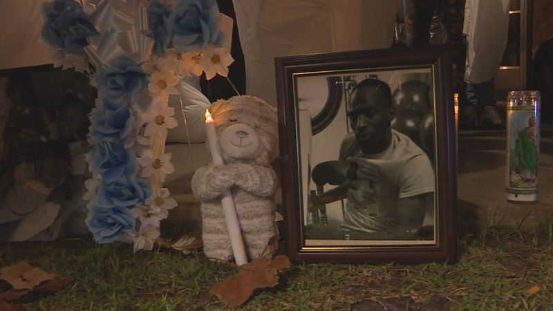 The family memories of Raynell Hicks held a candlelight vigil in memory of the 34-year-old,...