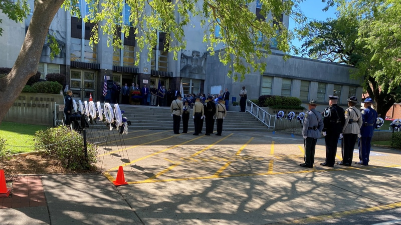 22nd Annual Law Enforcement Memorial Service for all Fallen Officers.