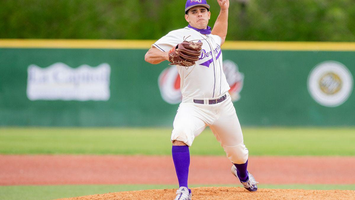 Junior left-hander Cameron Taylor earned his first career win Saturday at Abilene Christian.