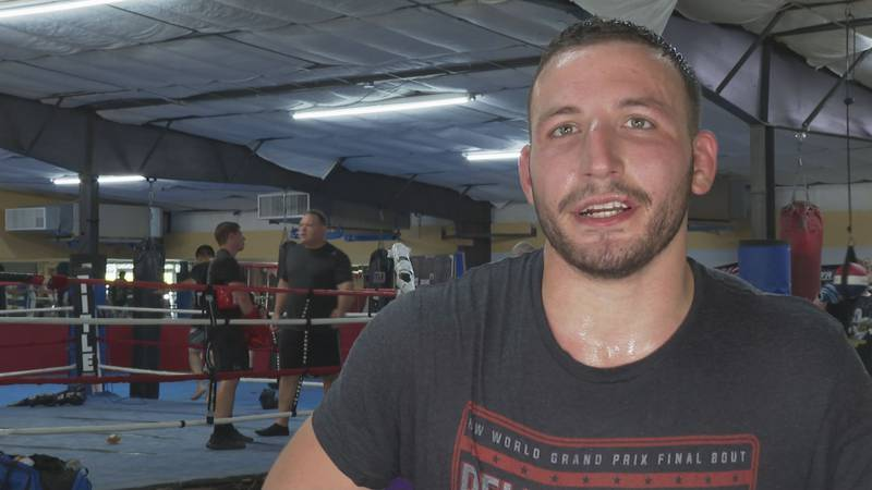 Jesse Roberts talks about his dream of making to the UFC and staying overnight at the gym.